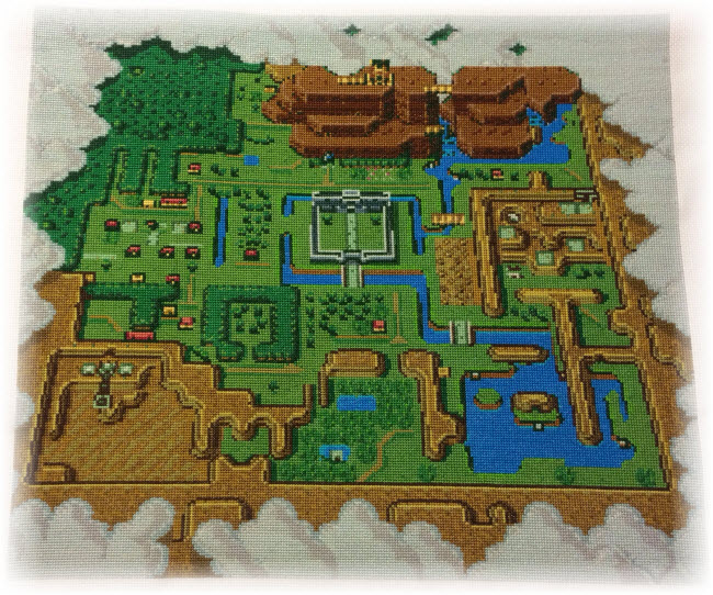 Legend of Zelda: A Link to the Past Map